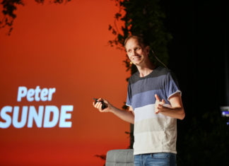 "Peteris Sunde ""The Pirate Bay"" įkūrėjas."