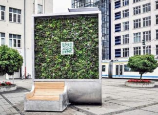 """CityTree"". (Green City Solutions)"