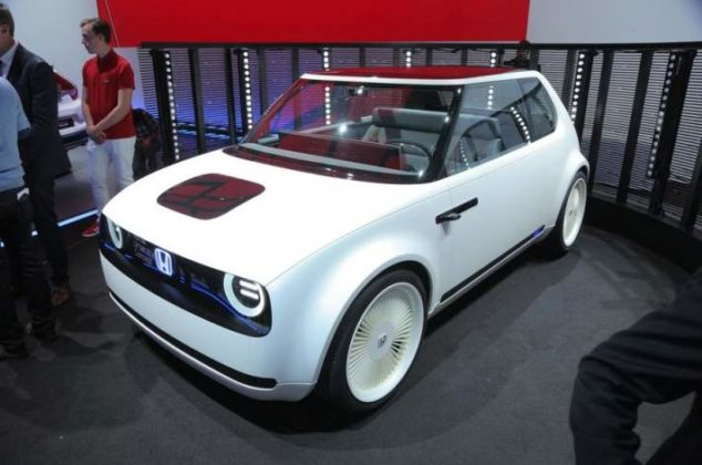 "Honda ""Urban EV"". (Rachel Burgess/autocar.co.uk)"